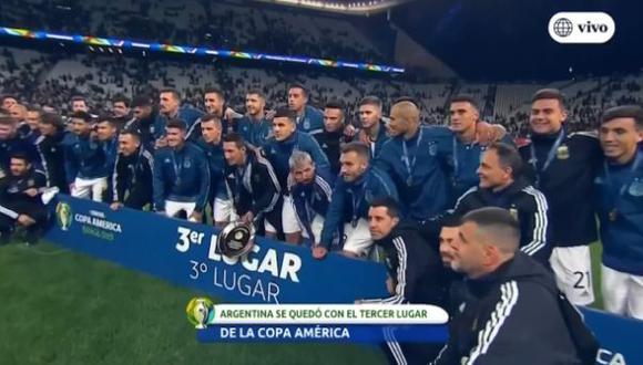 Argentina sin Lionel Messi