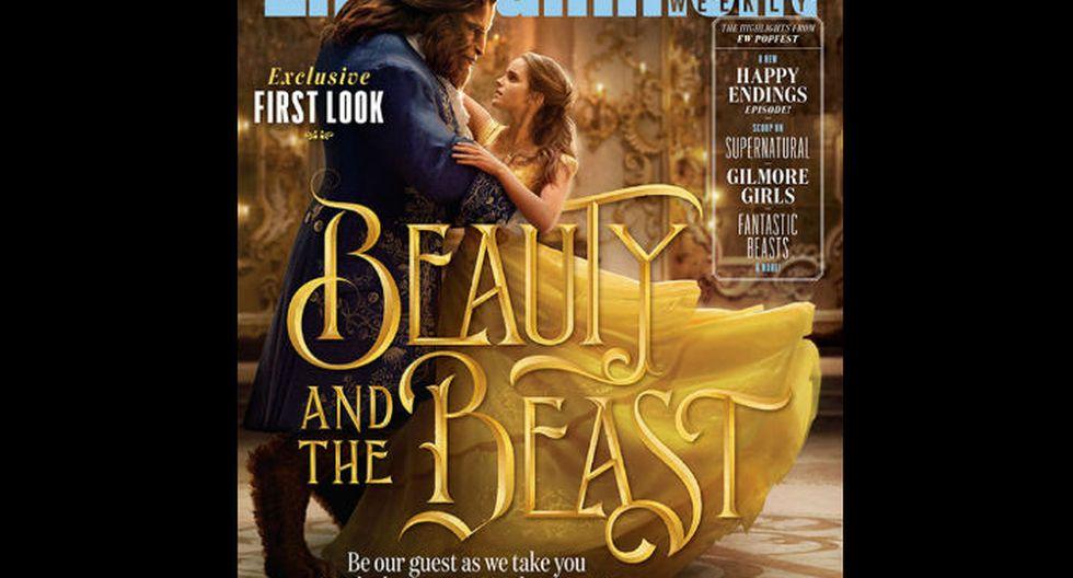 Portada de La Bella y la Bestia para la revista  Entertainment Weekly.