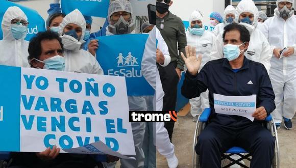 Toño Vargas luchó contra el coronavirus desde el pasado mes de julio. Foto: EsSalud.