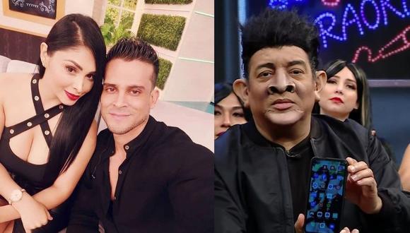 Pamela Franco comprobó que sí tiene la contraseña de Christian Domínguez. (Instagram / Captura ATV)