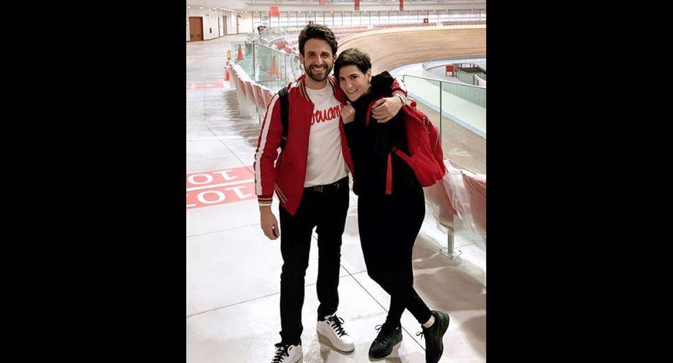 Rodrigo González y Gigi Mitre