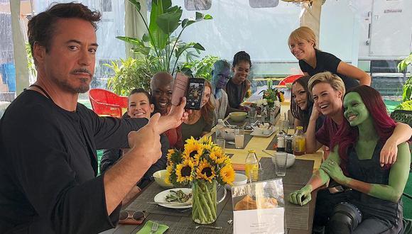 """Avengers: Endgame"": Robert Downey Jr. agasajó con un almuerzo a las ""mujeres poderosas"" del MCU. (Foto: @robertdowneyjr)"