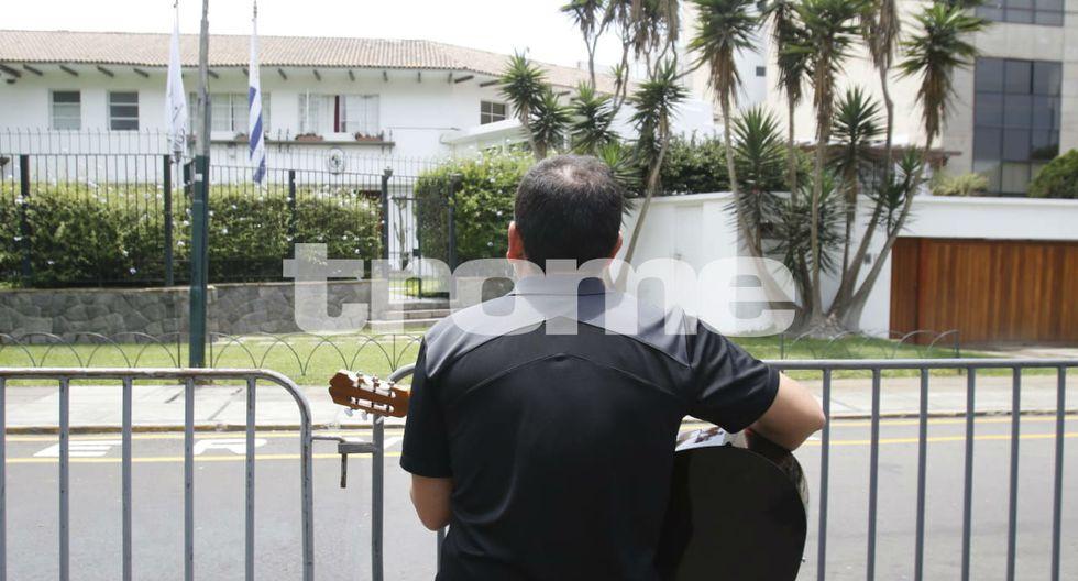 Músico que troleó a Leyla Chihuán dedica tema a Alan García. Foto: Miguel Bellido