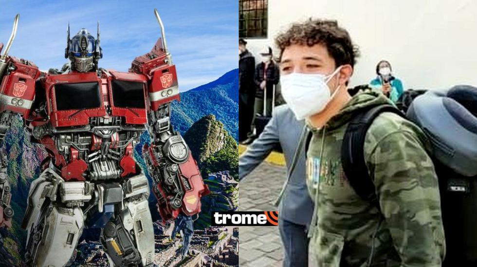 Transformers: actores y equipo de producción ya están en Cusco para grabar película (Foto: Néstor Larico)