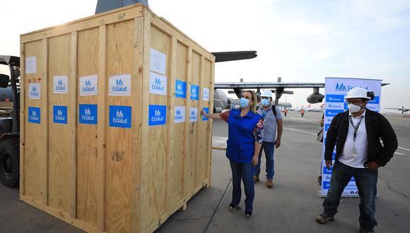 Planta de oxígeno funcionará en el hospital III Iquitos (Foto: EsSalud)