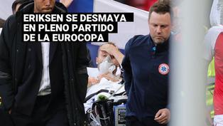 Eurocopa 2020: Christian Eriksense desmayóen el Dinamarca vs. Finlandia