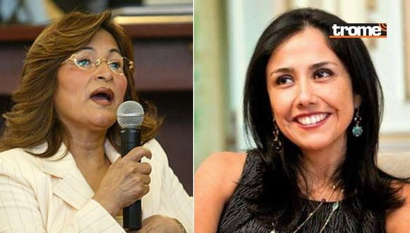 Nadine Heredia y Matilde Pinchi Pinchi