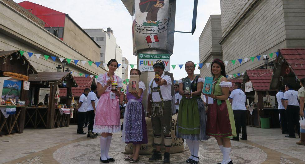 Feria está hasta hoy en la plazuela del Teatro Municipal de Lima.