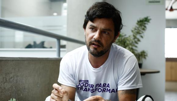 Daniel Olivares confesó que fuma marihuana hace 20 años. (GEC)