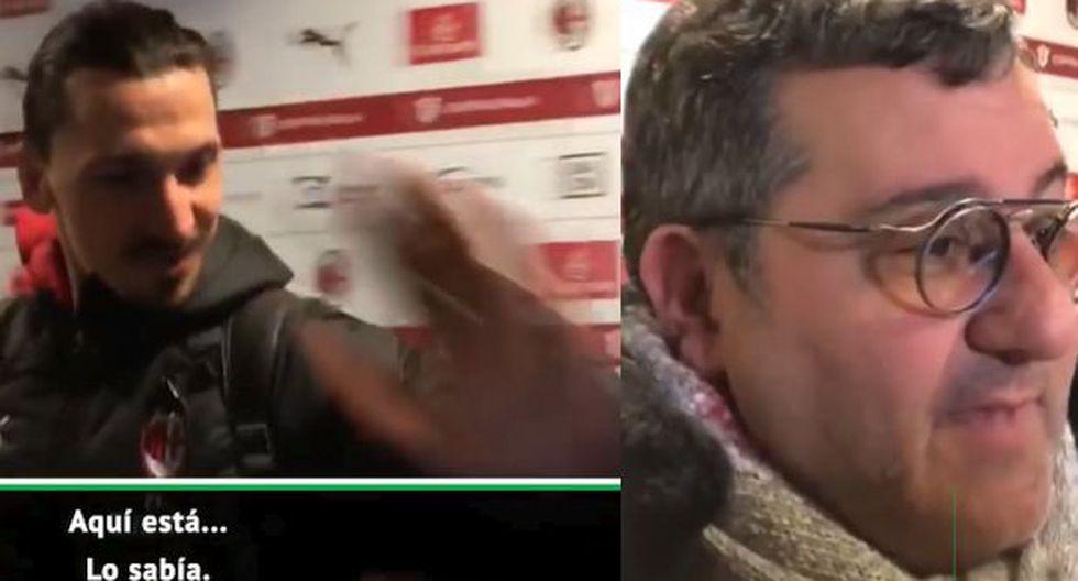 Zlatan Ibrahimovic azotó con duro golpe a su agente en plena entrevista en vivo Videos Virales