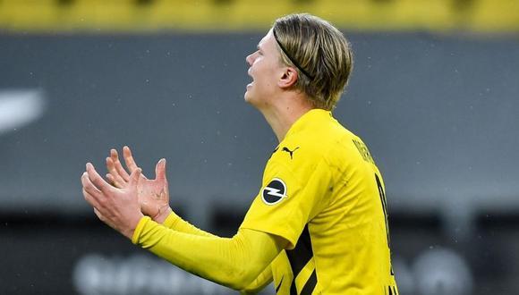 Borussia espera que Haaland no pida su carta de libertad (Foto: AP)