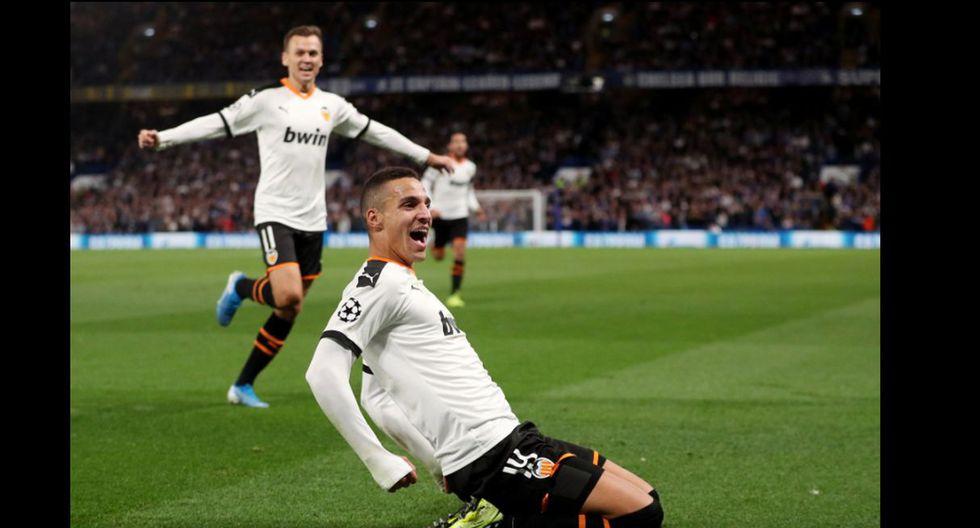 Chelsea vs Valencia por la Champions League. (Agencias)