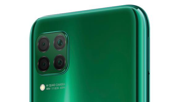 Huawei lanza oficialmente su celular de gama media, el P40 Lite y trae hasta 4 cámaras traseras. (Foto: Huawei)