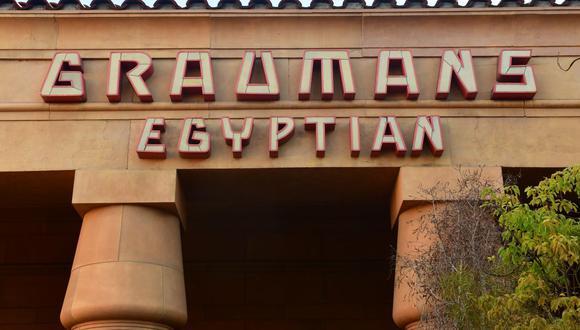 Netflix adquiere el histórico Teatro Egipcio de Hollywood. (Foto: AFP)
