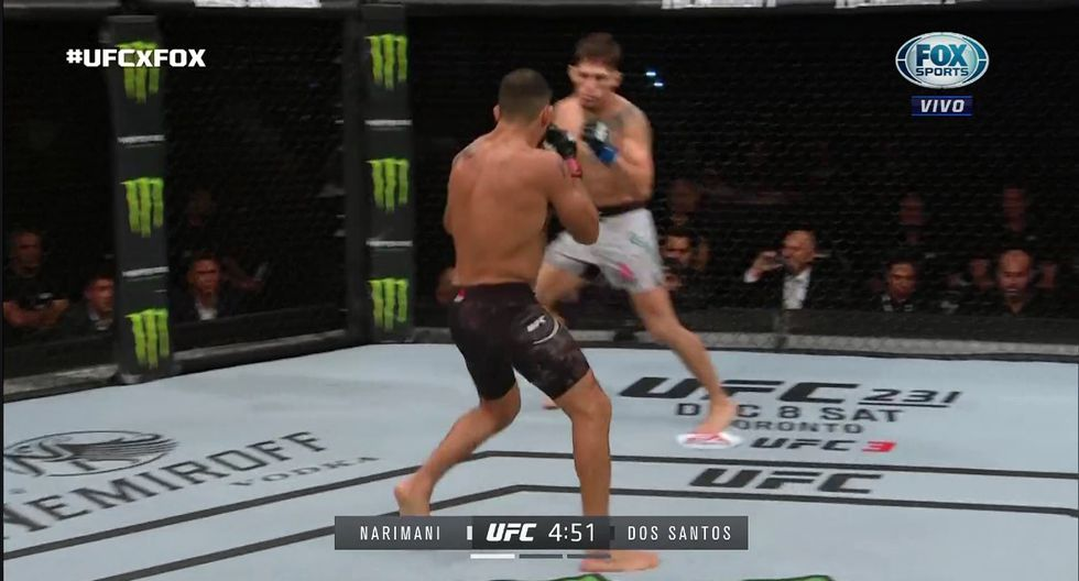Así se inició el UFC Argentina. (Redes Sociales)