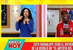 "Janet Barboza le 'tira maicito' a Cuto Guadalupe: ""Qué mujer no se pone nerviosa con él, tartamudeamos, nos trabamos"""
