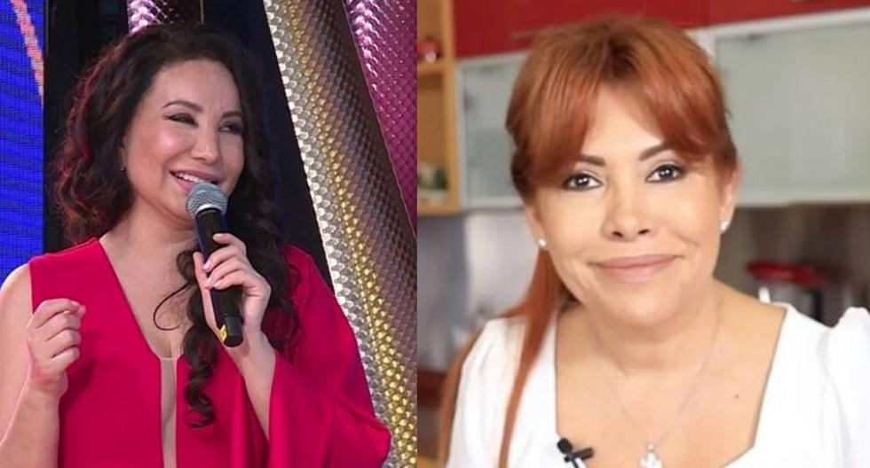 Magaly Medina llamó deforme a Janet Barboza y 'rulitos' responde