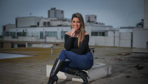 Alexandra Horler debuta mañana en ESPN. FOTOS: HUGO PEREZ / EL COMERCIO