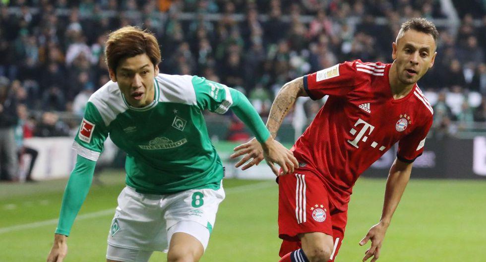 Bayern Múnich vs Werder Bremen: Partido por la Bundesliga