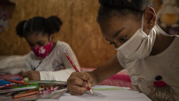 El dibujo es una de las actividades que pueden realizar nuestros pequeños en casa. (GEC)