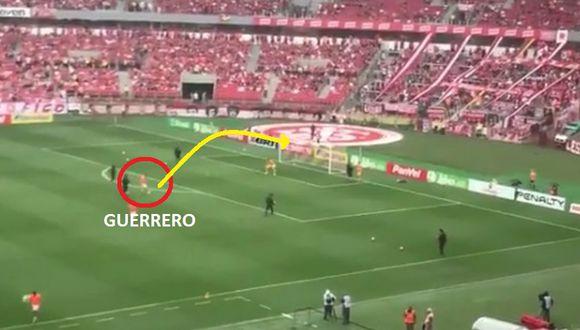 Gol de Paolo Guerrero