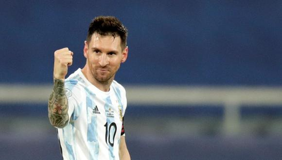 Con su tanto ante Chile, Lionel Messi superó otro récord de Gabriel Batistuta. (EFE/Andre Coelho)
