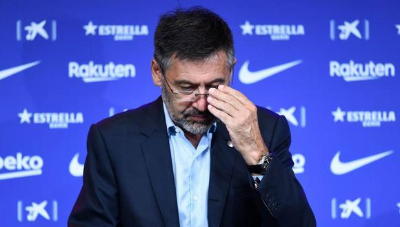 Josep Maria Bartomeu, expresidente de Barcelona, fue detenido este lunes. (Foto: AFP)