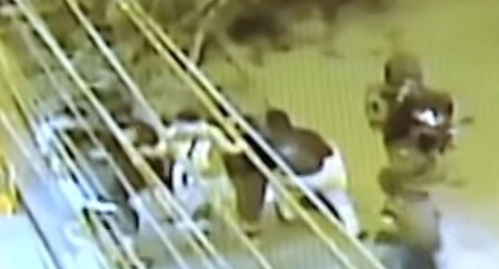 Cinco policías fueron asaltados en San Martín de Porres. Foto: Captura de pantalla de Buenos Días Perú