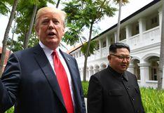 "Donald Trump advierte a Kim de que perderá ""todo"" si actúa de forma ""hostil"""