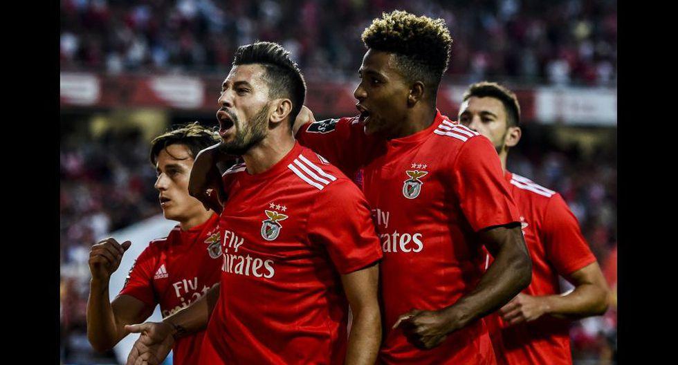 Benfica (Portugal). (Foto: AFP)