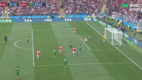 Gol 3 de Rusia