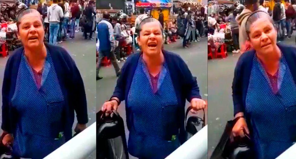 """Ambulante venezolana sobre Perú: """"Es el infierno en la tierra"""". (Capturas: Facebook)"""