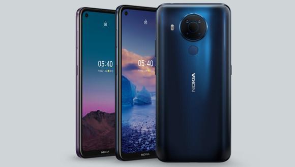 Conoce el nuevo Nokia G50 con tecnología 5G y una gran pantalla. | Foto: Nokia