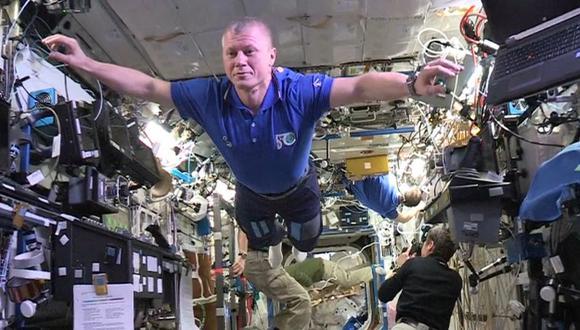 Mannequin Challenge desde el espacio