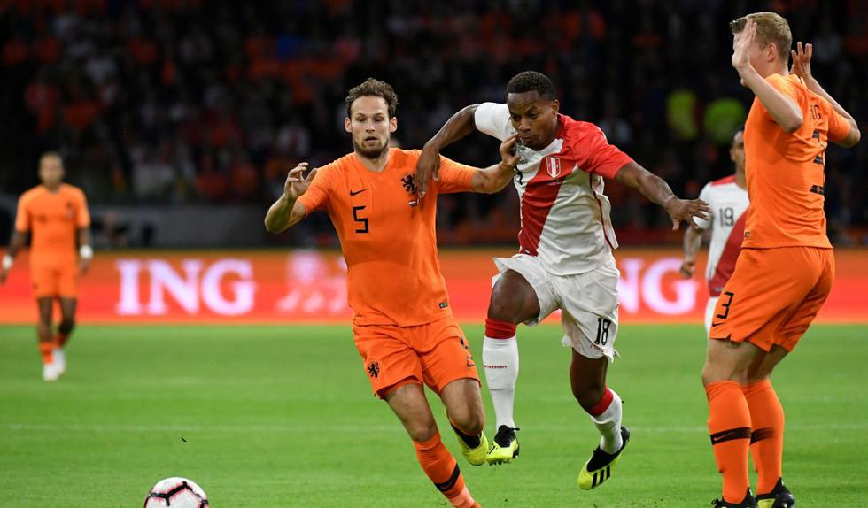 Perú vs Holanda Partido Amistoso por fecha FIFA | FOTOS | VIDEO