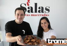 Salas Maceradas: Una ingeniera industrial y un abogado 'rayan' con sus alitas | Emprende Trome