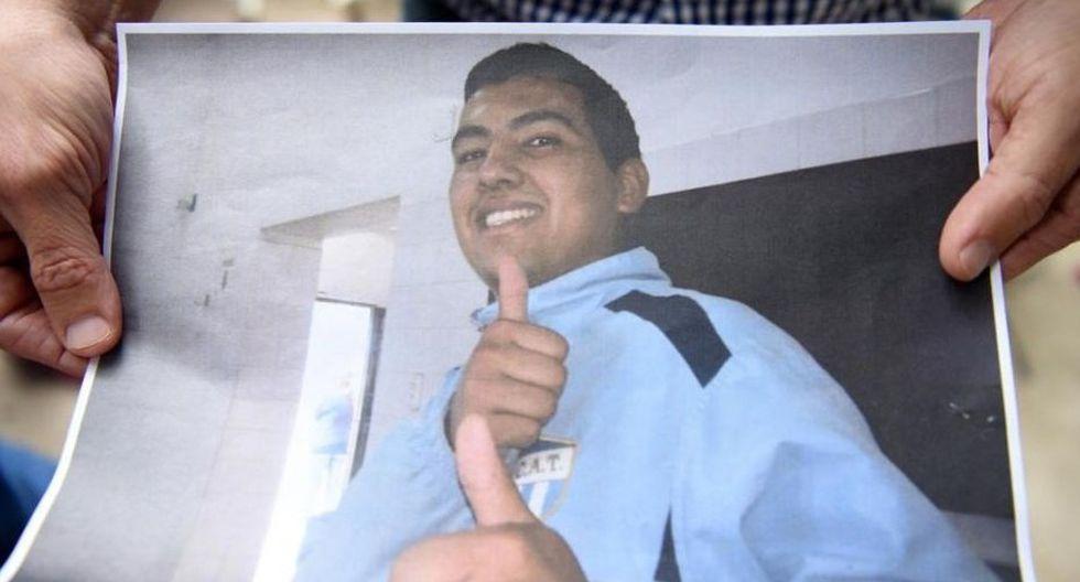 Nicolás Abregú fue un joven trabajador que encontró la muerte a los 22 años.