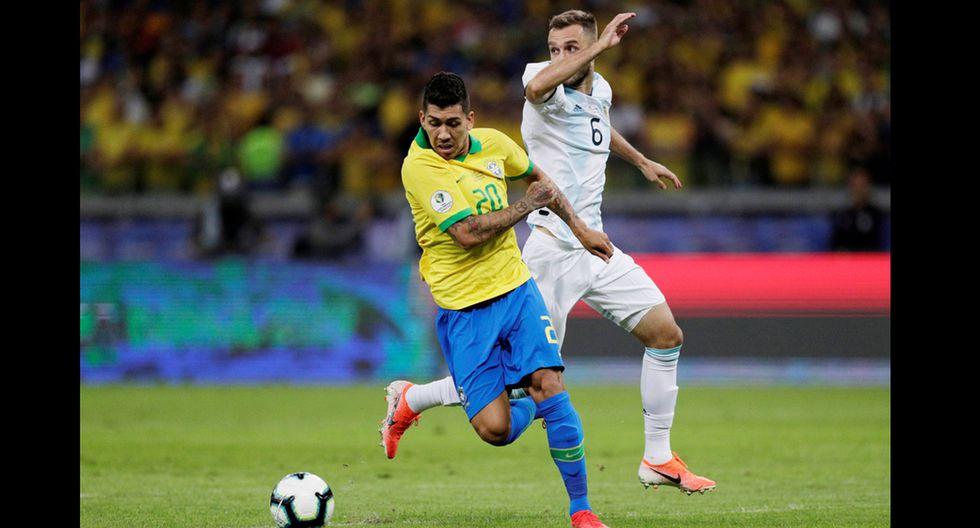 Argentina vs. Brasil se enfrentan en el Mineirao por la Copa América 2019