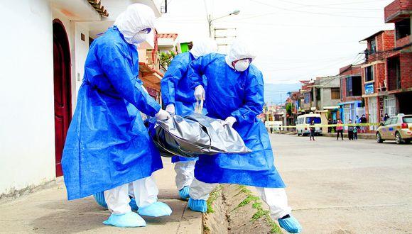 Piura: Cinco personas que fueron diagnosticadas de COVID-19 fallecieron en menos de 24 horas en sus casas. (foto referencial)