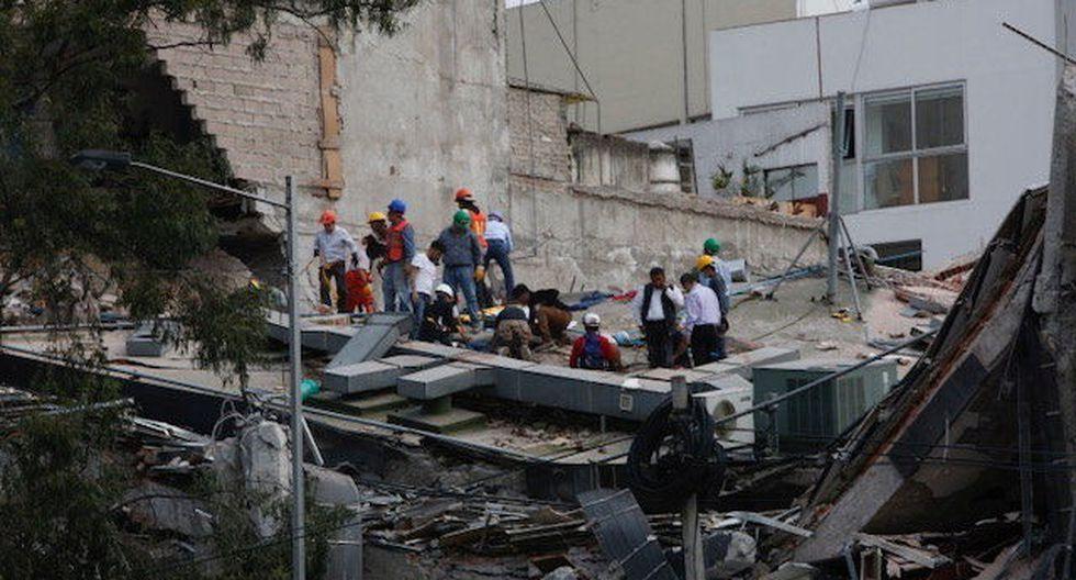 Terremoto en México ha dejado a su paso muerte y destrucción.