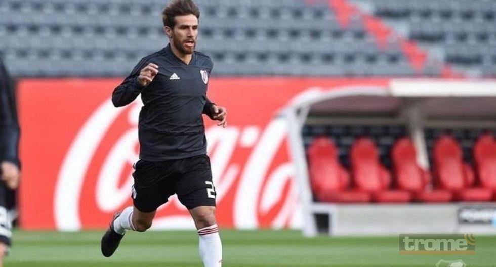 Leonardo Ponzio recibió el alta médica y se mete en la final de la Copa Libertadores.