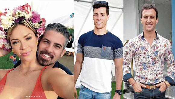 Sheyla Rojas y sus parejas con las que terminó en medio de un escándalo.