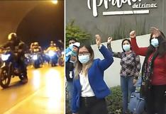 Rímac: Motociclistas generan caos en inmediaciones de condominio