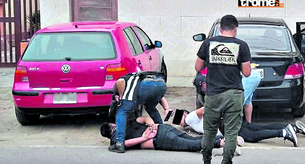 Sospechosos fueron atrapados por la policía. (GEC)