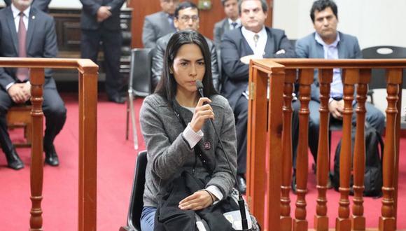 Melisa González Gagliuffi va a prisión preventiva por seis meses. (Foto: Poder Judicial)