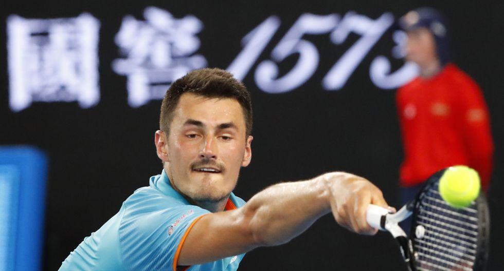 Bernard Tomic sería el primer caso de Coronavirus en el tenis profesional. (Foto: AFP)