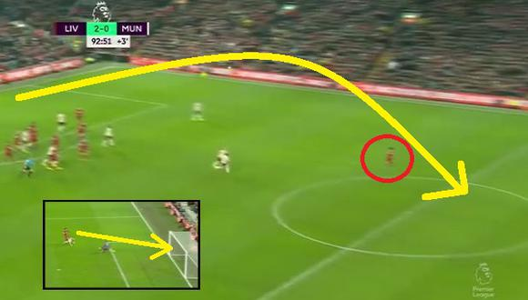 Liverpool vs Manchester United: Gol de Salah (Video: ESPN) (Trome)