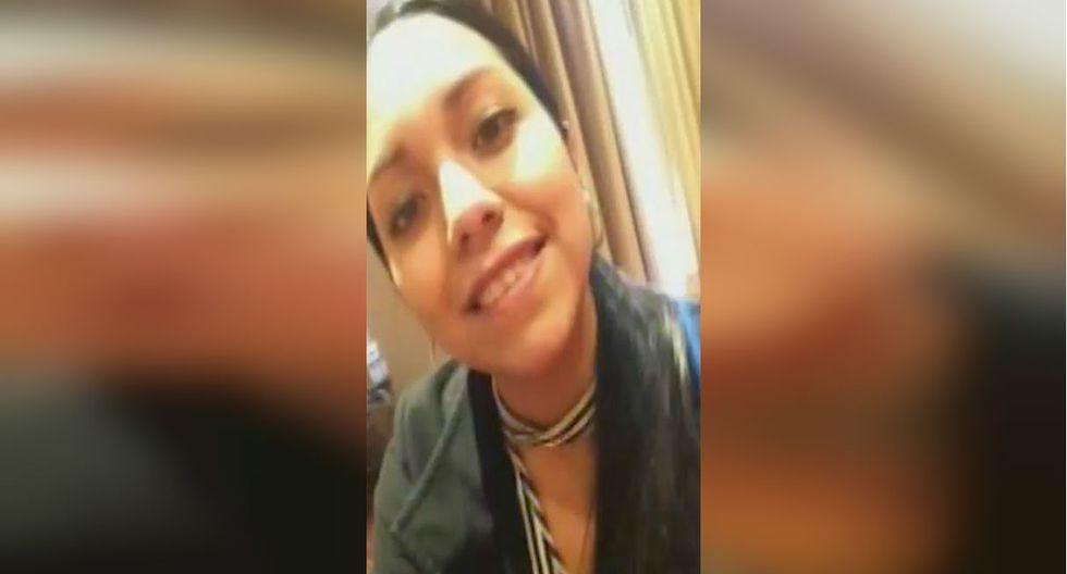 Joven estudiante muere atropellada por coaster tras distraerse y cruzar en rojo. Foto: Captura de América Noticias