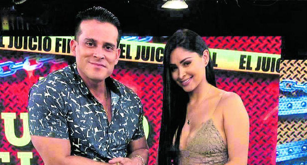 Christían Dominguez y Pamela Franco. (Fotos: GEC)