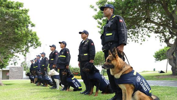 La Brigada Canina cumple hoy 20 años resguardando San Isidro y realizando un trabajo preventivo.